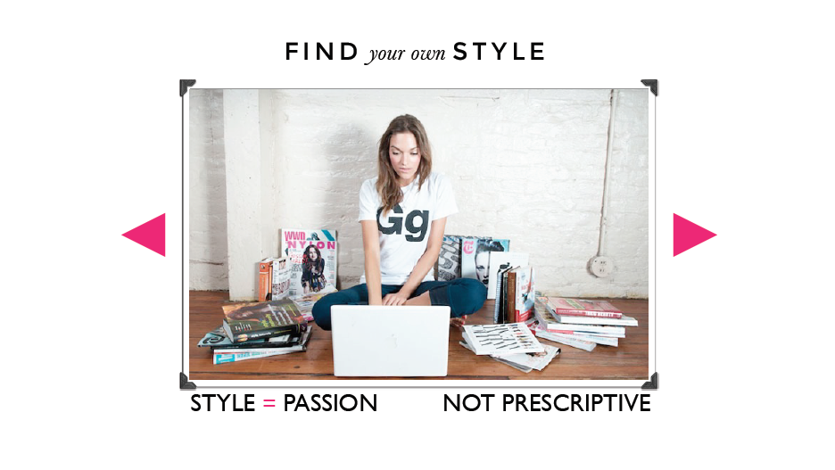 Style is about passion, it's intensely personal and at its core should be sustainable. Find your style.